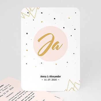Einladungskarten Hochzeit  - Ja, ich will - 0
