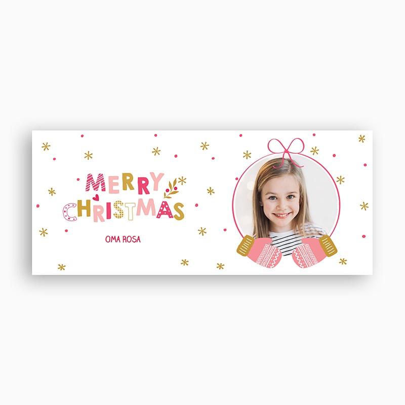 Fototasse Weihnachten - Handschuhe zartrosa 56502 thumb