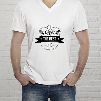 Tee-Shirt  The Best Dad