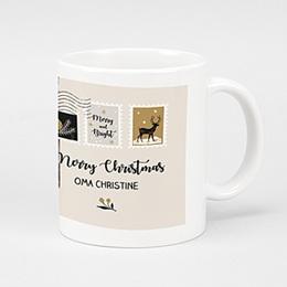 Fototassen Weihnachten Weihnachtsbrief