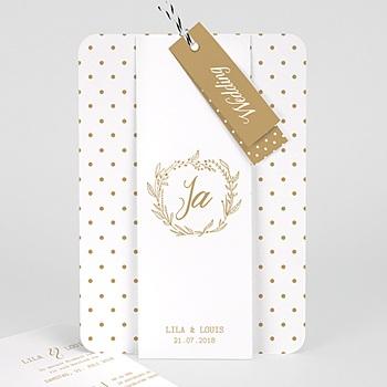 Elegante Hochzeitskarten  - So in Love - 0