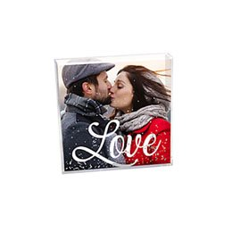 Cadre photo paillettes Geschenke Love Pailetten