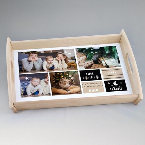 Personalisierte Foto-Tablett  Wunderbar serviert