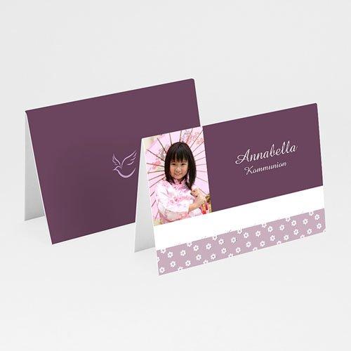 Tischkarten Kommunion - Mädchen 1 5683