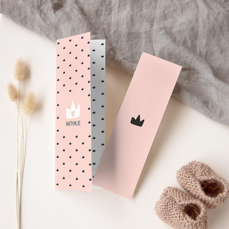 Geburtskarten für Mädchen - Kleine Königin 56998 thumb