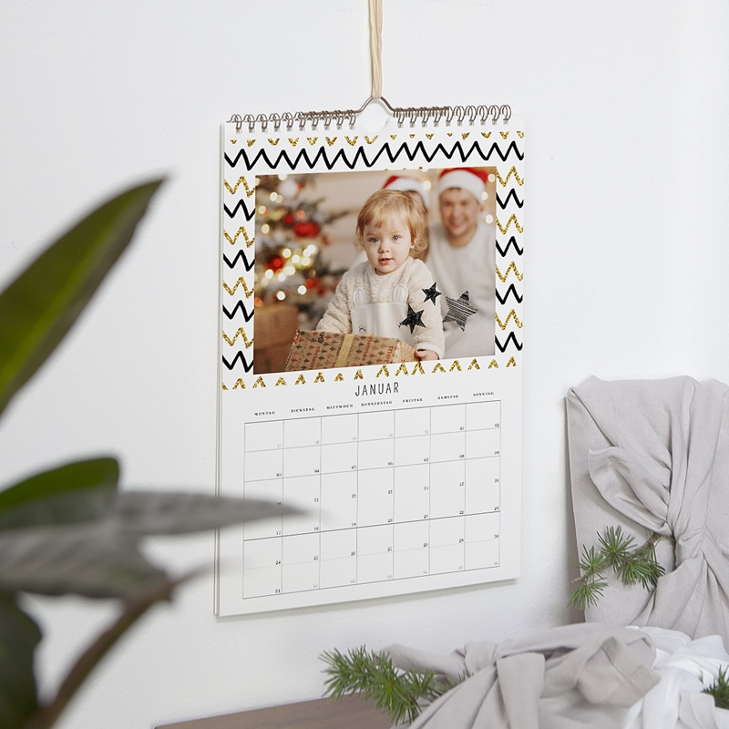 Wandkalender 2019 - Goldenes Weihnachten 57008 thumb