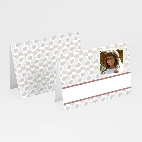 Tischkarten Kommunion - Tischkarte Blätter 5731