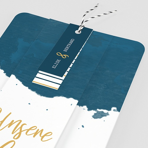 Kreative Hochzeitskarten - Gold & Aquarell 57327 thumb
