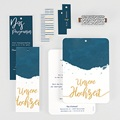 Kreative Hochzeitskarten - Gold & Aquarell 57328 thumb