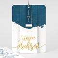 Kreative Hochzeitskarten - Gold & Aquarell 57331 thumb