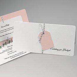Karten Hochzeit Schlichte Romantik