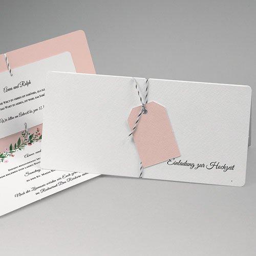 Klassische Hochzeitskarten Schlichte Romantik Carteland De