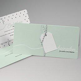 Karten Hochzeit Mint