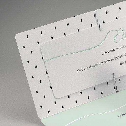 Hochzeitseinladungen Mint gratuit