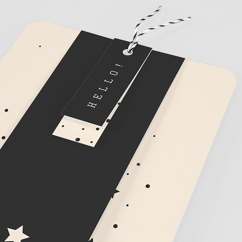 Elegante Geburtskarten Sternenhimmel pas cher