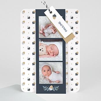 Geburtskarten für Jungen - Herbstlich - 0
