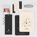Elegante Geburtskarten Sternenhimmel gratuit