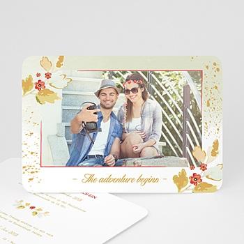 Hochzeitskarten mit Foto - Abenteuer - 0