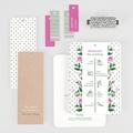 Rustikale Hochzeitseinladungen Blütentraum gratuit