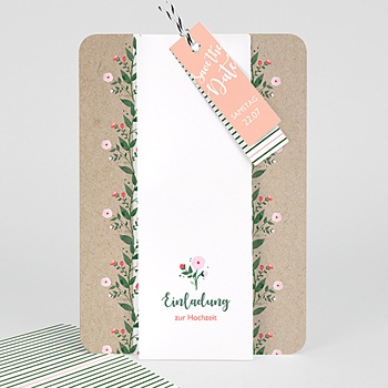 Einladungskarten Landhochzeit - Wiesenhochzeit - 0