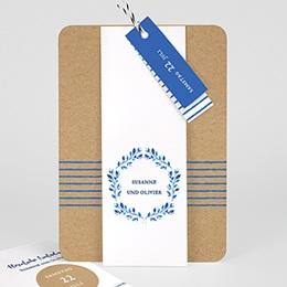Einladungskarten Landhochzeit Mediterran