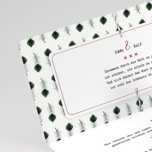 Hochzeitseinladungen Pfauenfeder gratuit