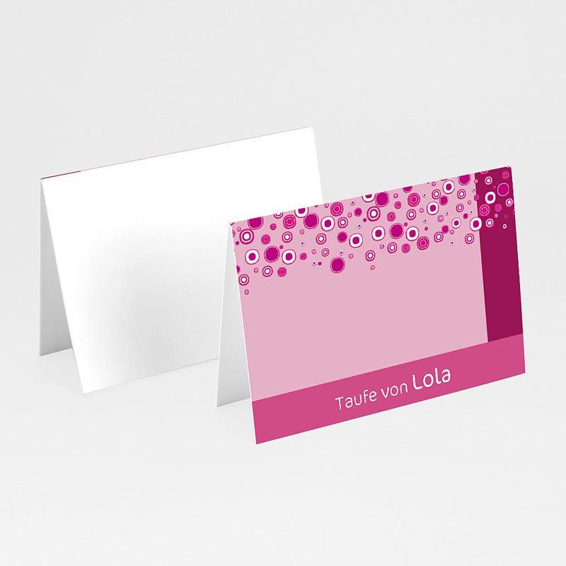 Tischkarten Taufe - Jonas 5791 thumb