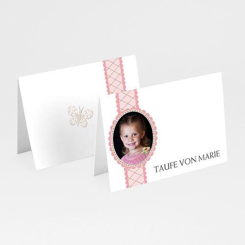 Tischkarten Taufe - Schutz 5799