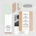 Hochzeitskarten Vintage  - Holz & Pastell 58012 thumb