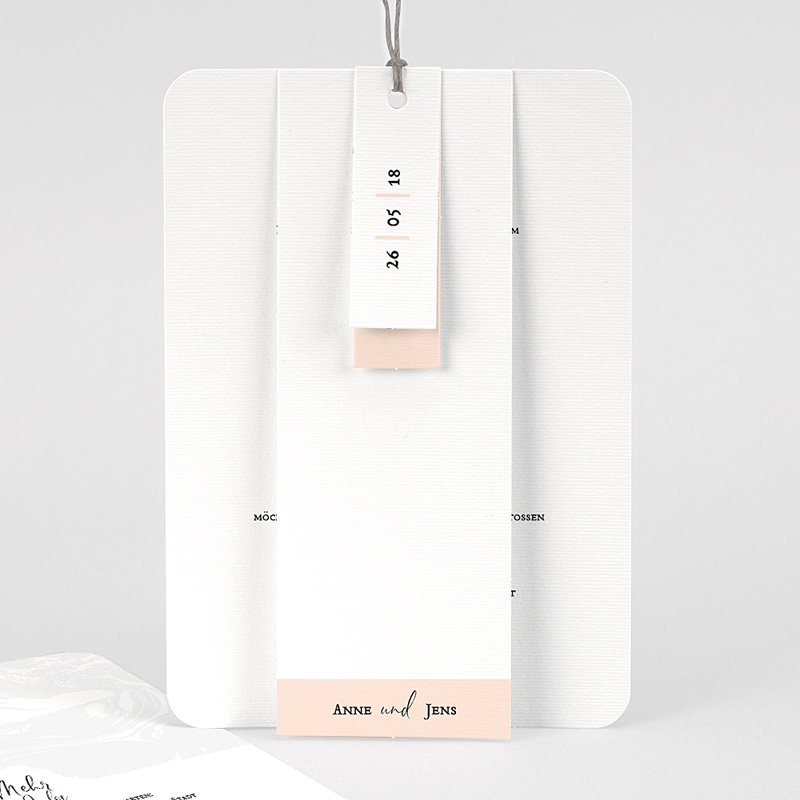 Kreative Hochzeitskarten Mamor & Pastell