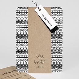 Kreative Hochzeitskarten Kraftpapieroptik