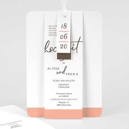 Hochzeitseinladungen Color Touch