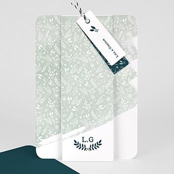 Einladungskarten Naturhochzeit  - Pastell & Aquarell - 0