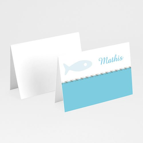 Tischkarten Taufe - Tischkarte Elias 5827