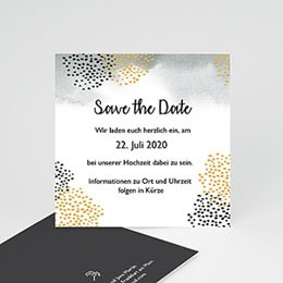 Save The Date  Tusche & Punkte