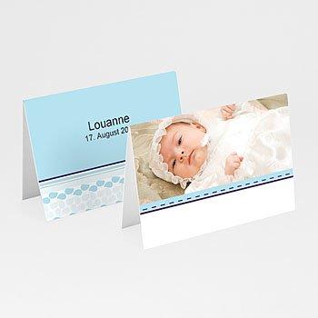 Tischkarten Taufe - Taufkarte Elias - 1