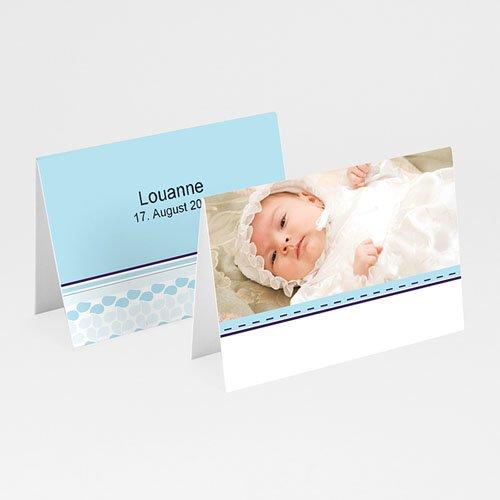 Tischkarten Taufe - Täufling 5835