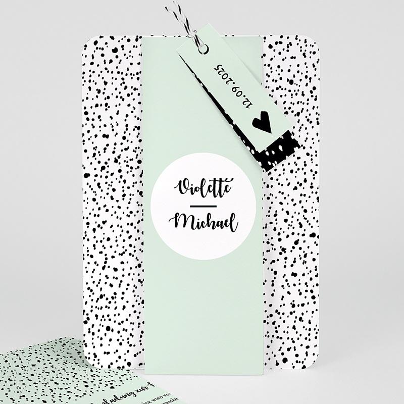Kreative Hochzeitseinladungen Grafik Love