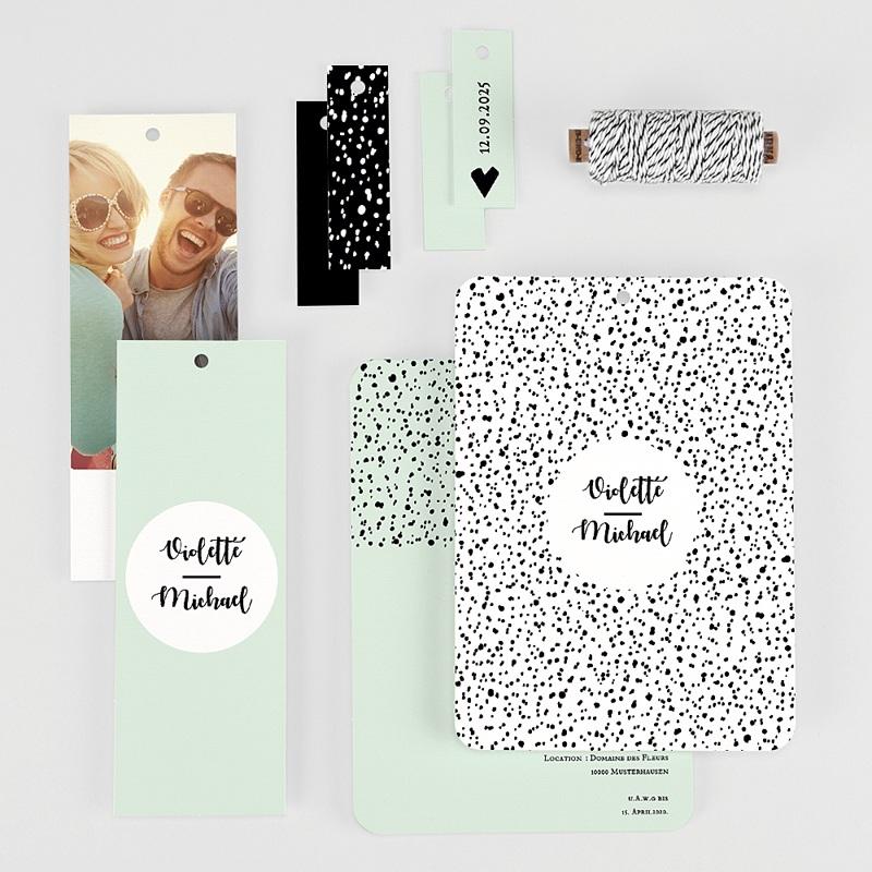 Kreative Hochzeitseinladungen Grafik Love gratuit