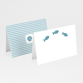 Tischkarten Taufe - Taufkarte Louis - 1
