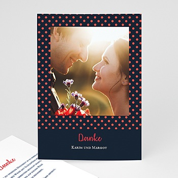Originelle Dankeskarte Hochzeit  - So french - 0