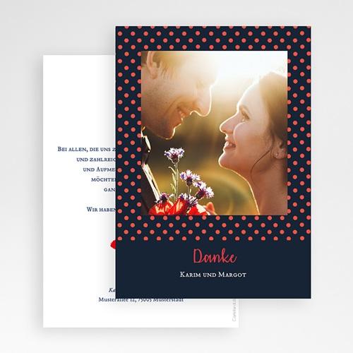 Originelle Dankeskarte Hochzeit  So french gratuit
