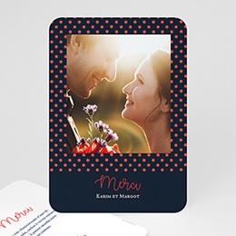 Dankeskarten Hochzeit mit Foto So french