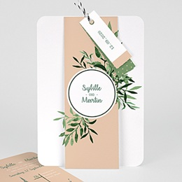 Karten Hochzeit Botanisches Grün