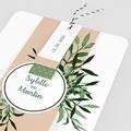 Einladungskarten Landhochzeit - Botanisches Grün 58558 thumb