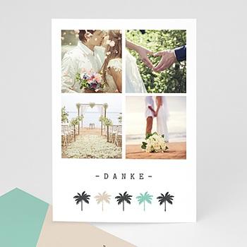 Dankeskarten Hochzeit mit Foto - Palm Springs - 0
