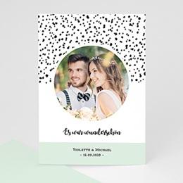 Danksagungskarten Hochzeit Grafik Love
