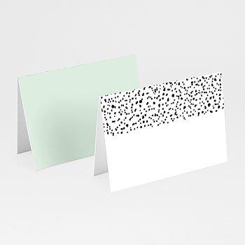 Tischkarten Hochzeit - Grafik Love - 0