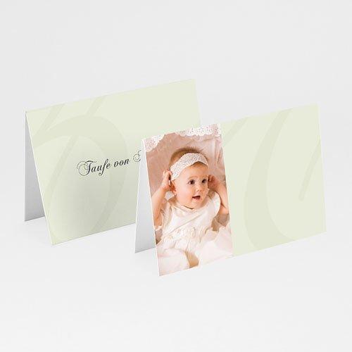 Tischkarten Taufe - Beige 5863 test