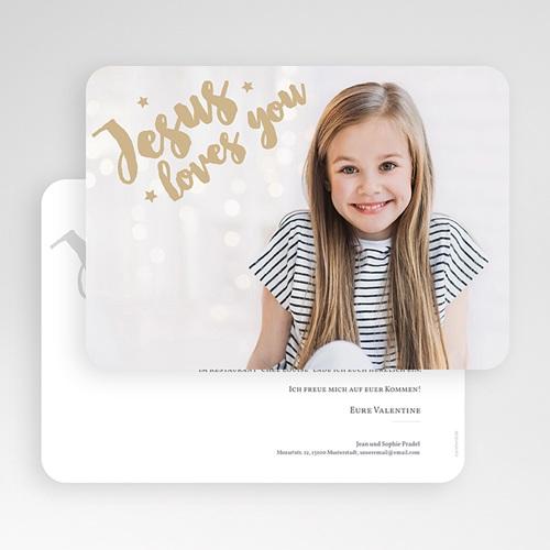 Einladungskarten Kommunion Mädchen - Holly Love 58746 thumb